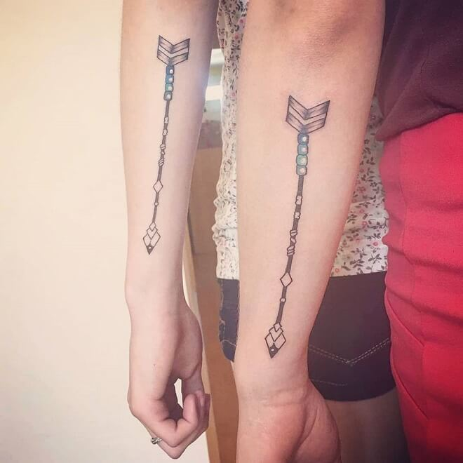 Arrow Best Friends Tattoos