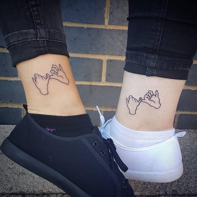 Boldlines Best Friends Tattoo