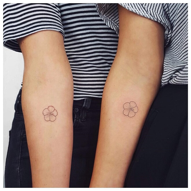 Botanical Sisters Tattoo