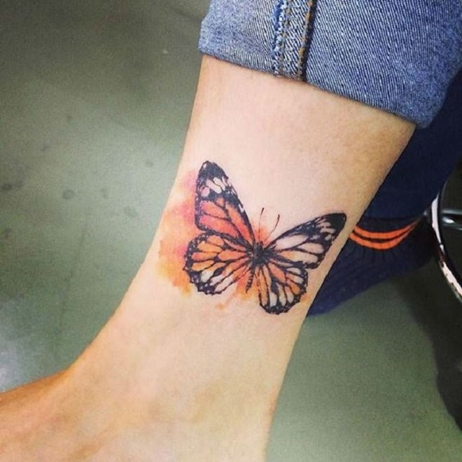 Butterfly Splash tattoo