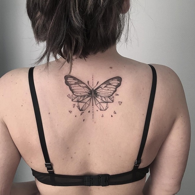 Butterfly for Kathy Effect tattoo
