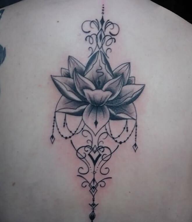 Captain Lotus tattoo