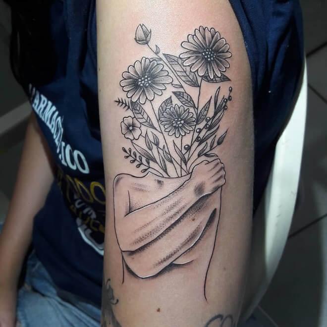 Chandelier Lotus Tattoo
