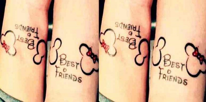Compass Best Friends Tattoos