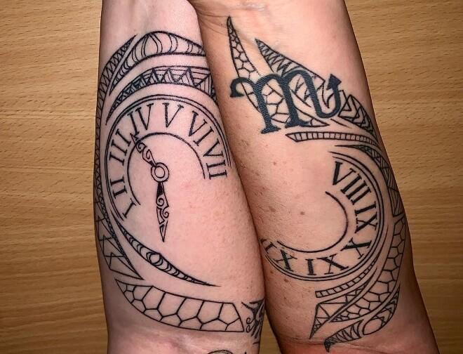 Creative Sister Tattoo