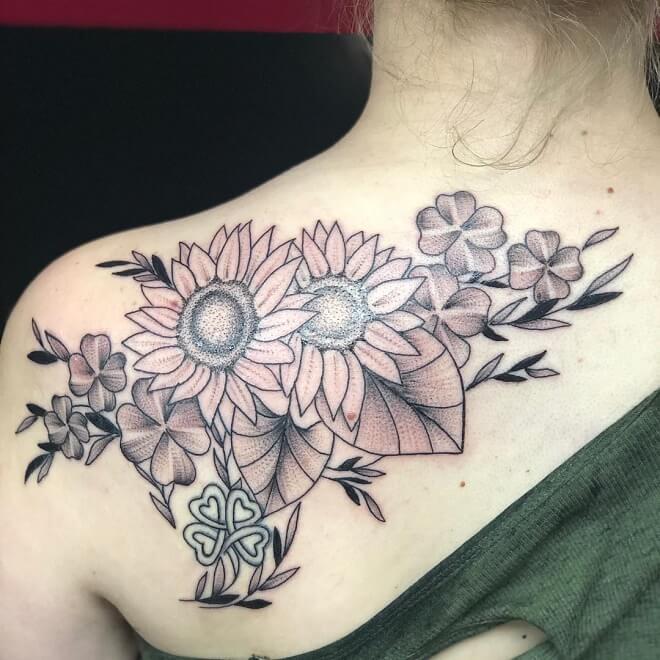 GirlswithInk Sunflower