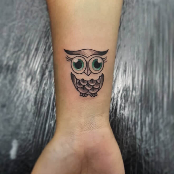 InkInked Owl Tattoo