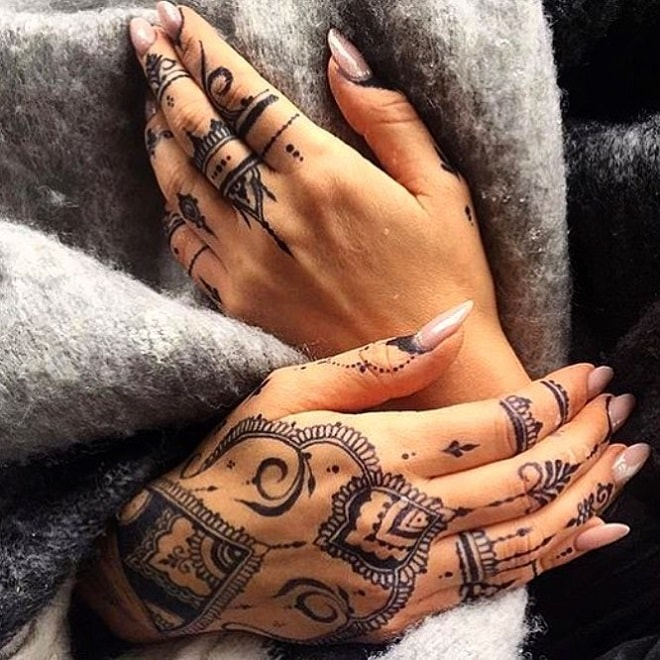 Inspiration Henna Tattoos