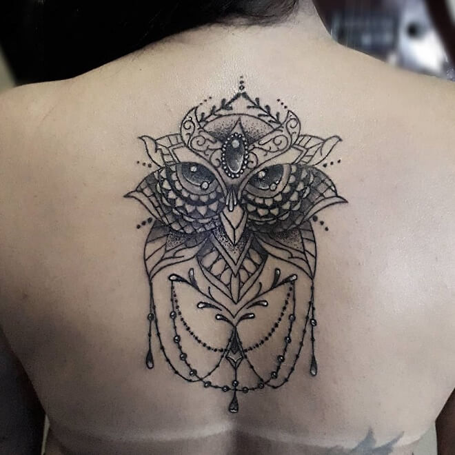 Inspiration Owl Tattoo