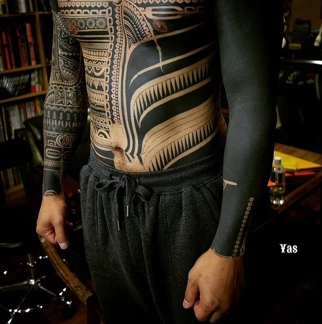 Inspiring Tribal Tattoo Design