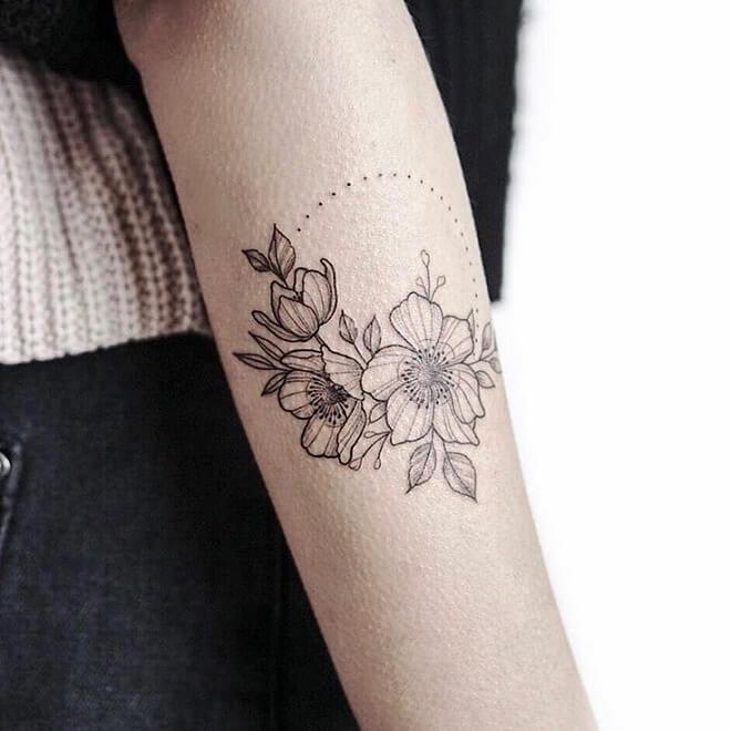Lagraine Lotus Tattoo