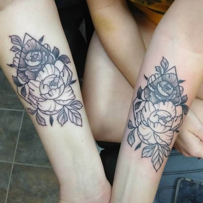 Matching MotherDaughter Tattoos