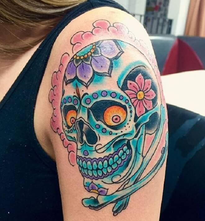 a186a1c83 Skull tattoos are now more approved left behind the others. Regardless of  the results of what some may believe, skull tattoo designs are some of that  cool ...