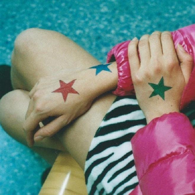 Sticker Star Tattoo