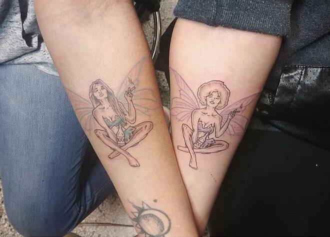Vegan Ink Best Friends Tattoo