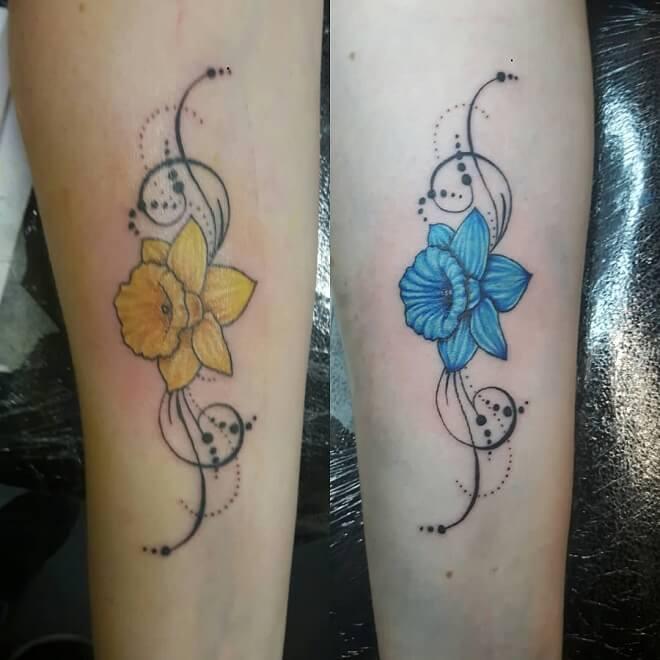 Wrist Sister Tattoo