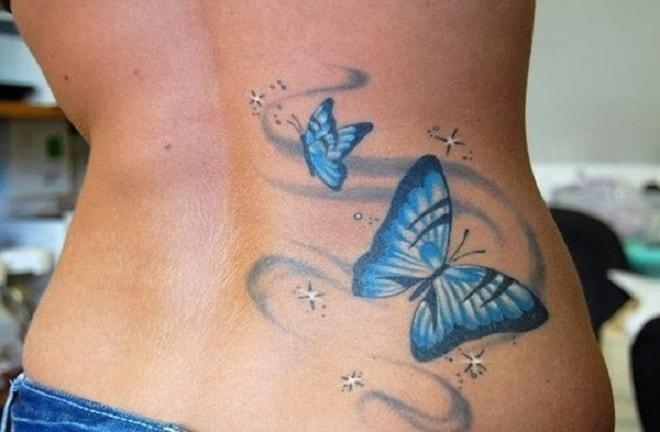 dream butterfly tattoo