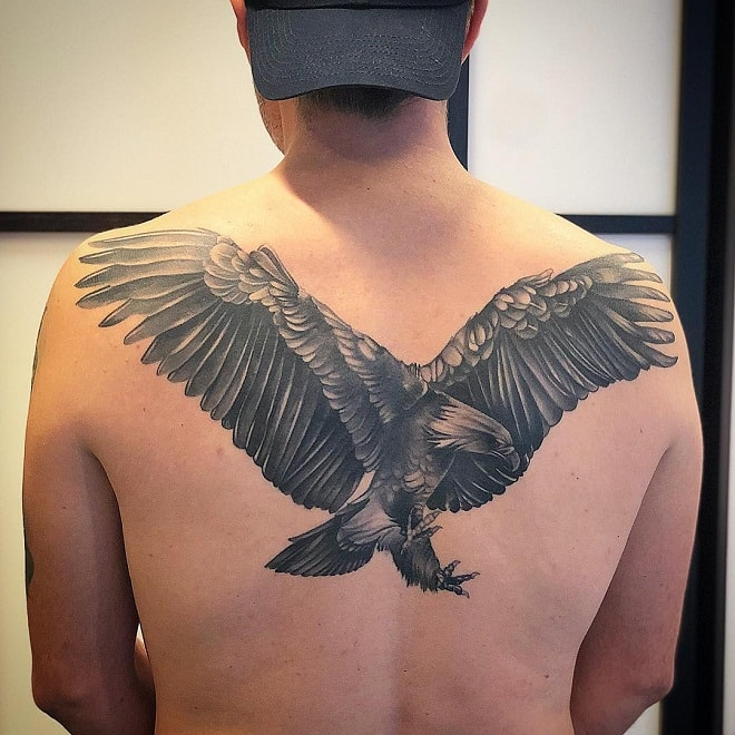eagle bird tattoos