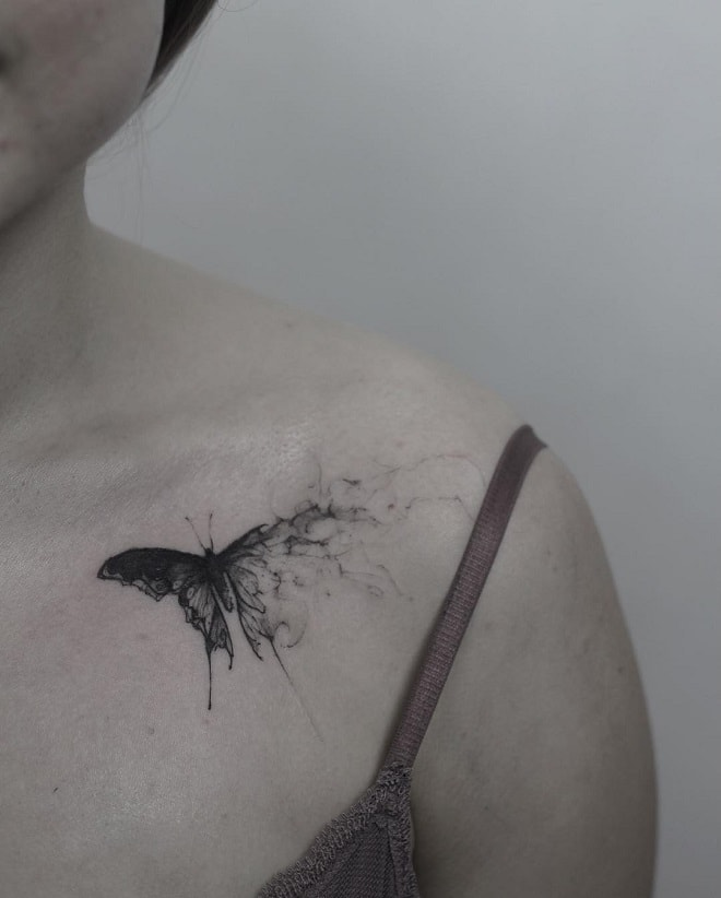 ink work butterfly tattoo
