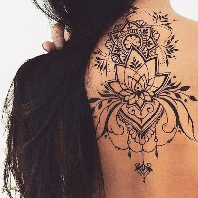 lotus tattoo for girl