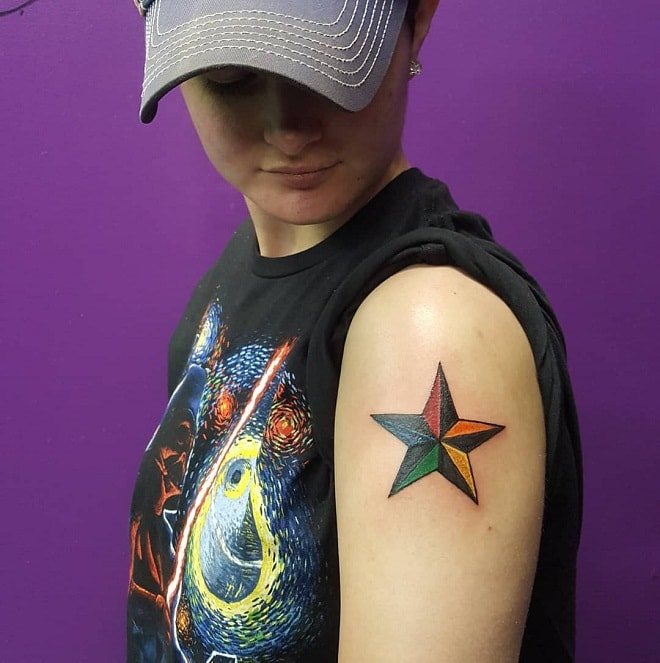 solid color Tattoo