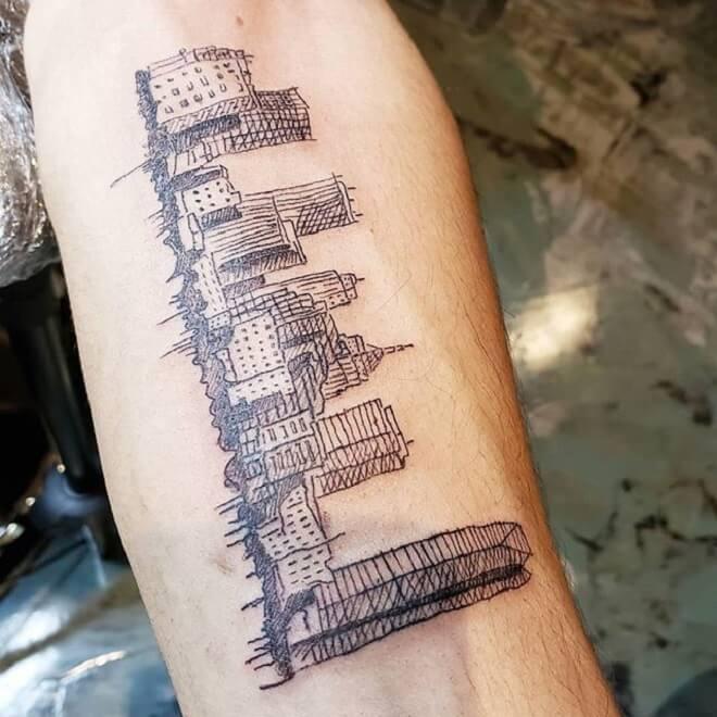 Amazing City Tattoo