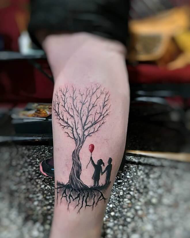 Arbol Family Tattoo
