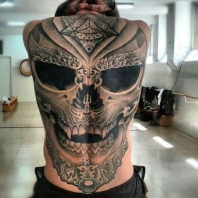 Back Badass Tattoo