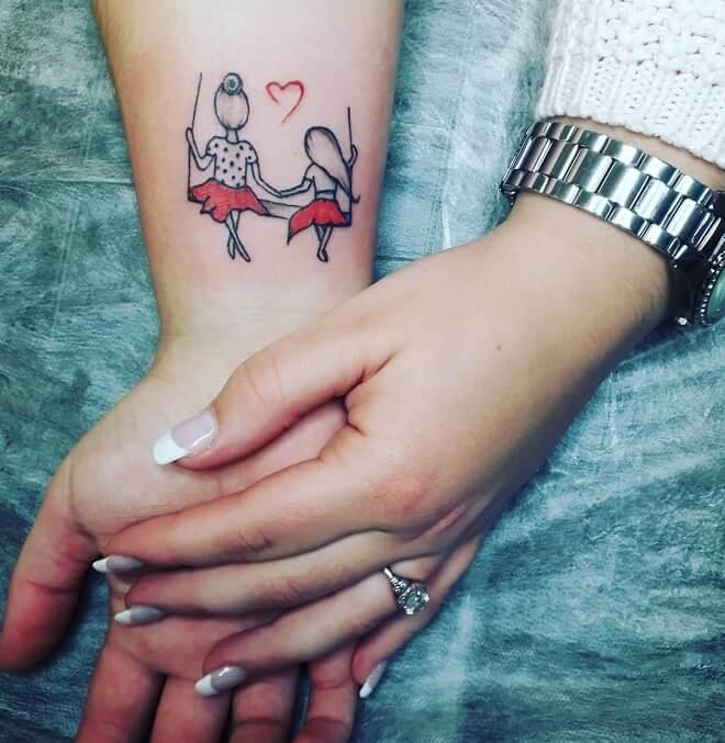 Beautiful Mom Tattoo