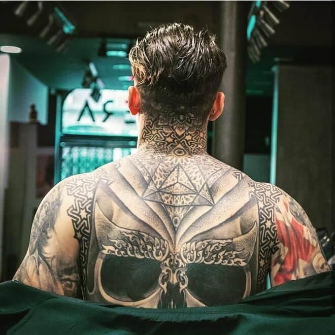 Black Body Tattoos
