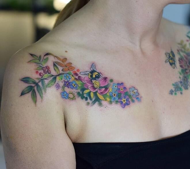 Brighton Bone Tattoo