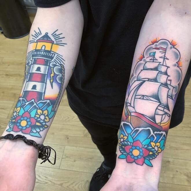 Bristol Matching Tattoo
