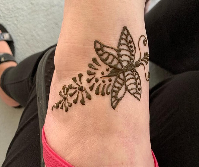 Butterfly Cool Henna Tattoo