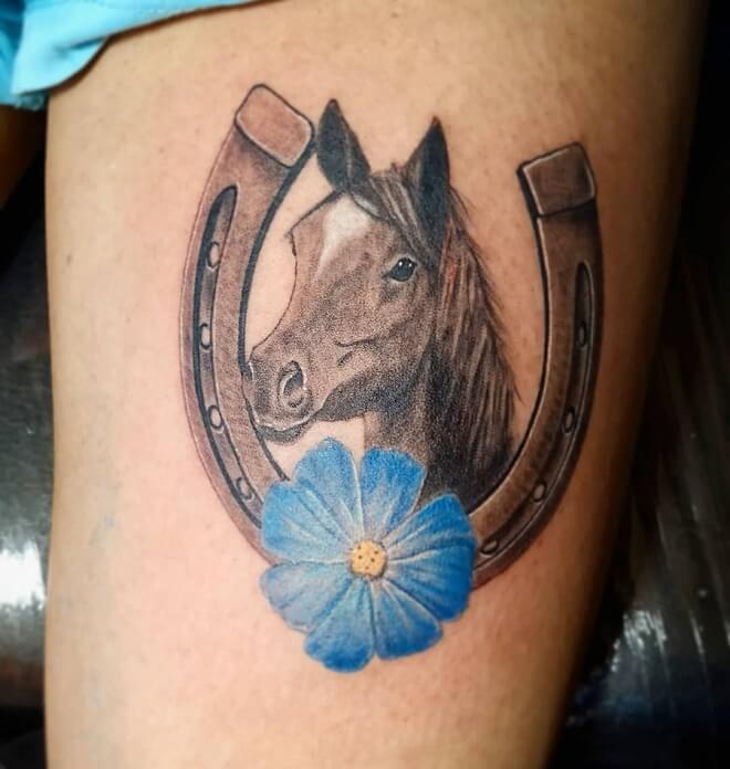 Caballo Horse Tattoo