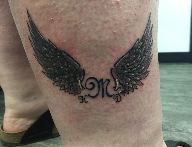 Chicksthat Angel Wings Tattoo