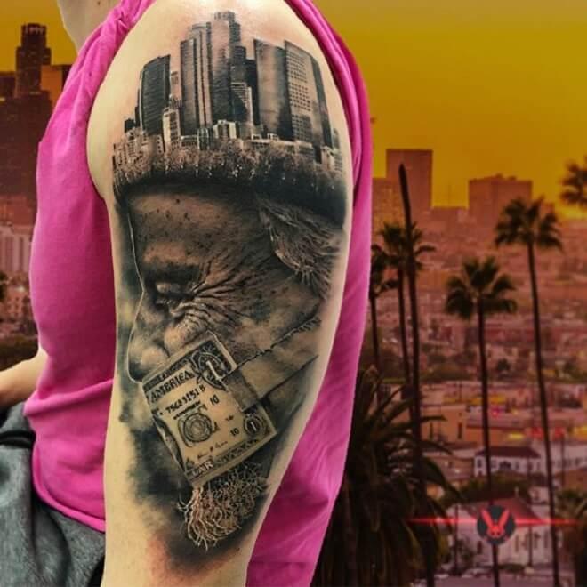 City Tattoo for Men