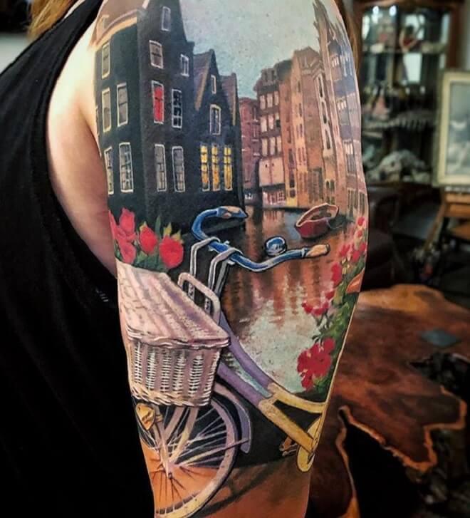 Color Full City Tattoo