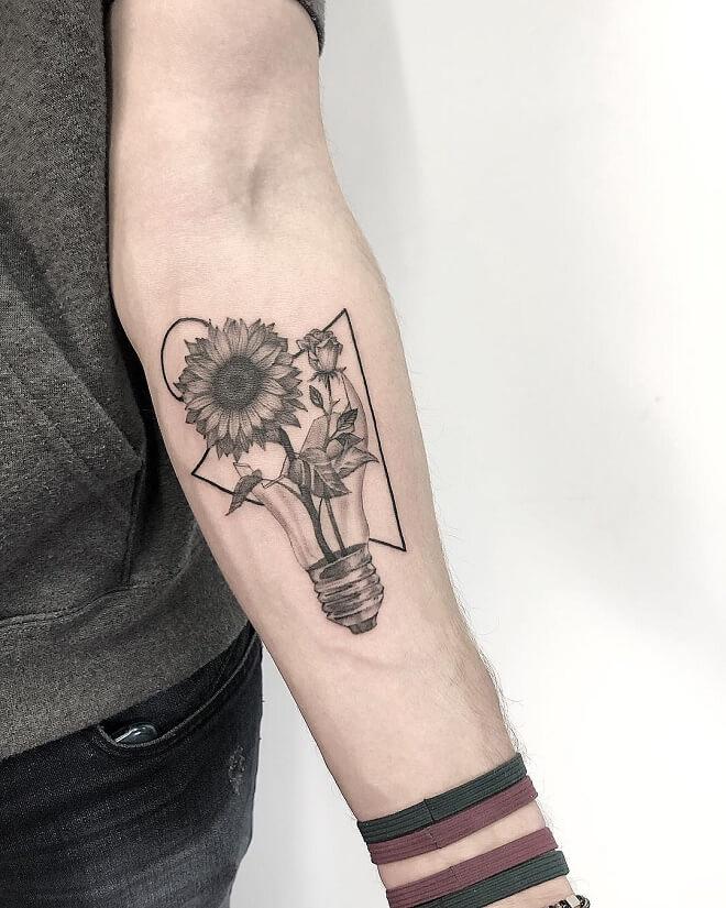 Creation Chest Tattoo