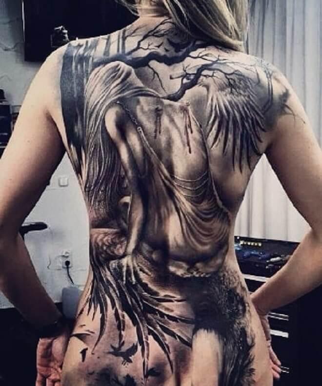 Creative Badass Tattoo