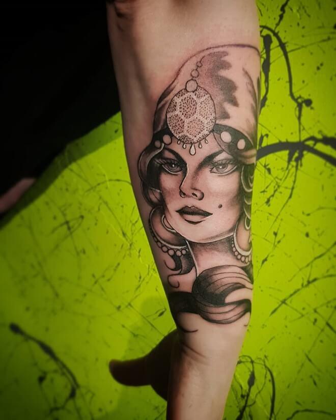 Custom Meaningful Tattoo
