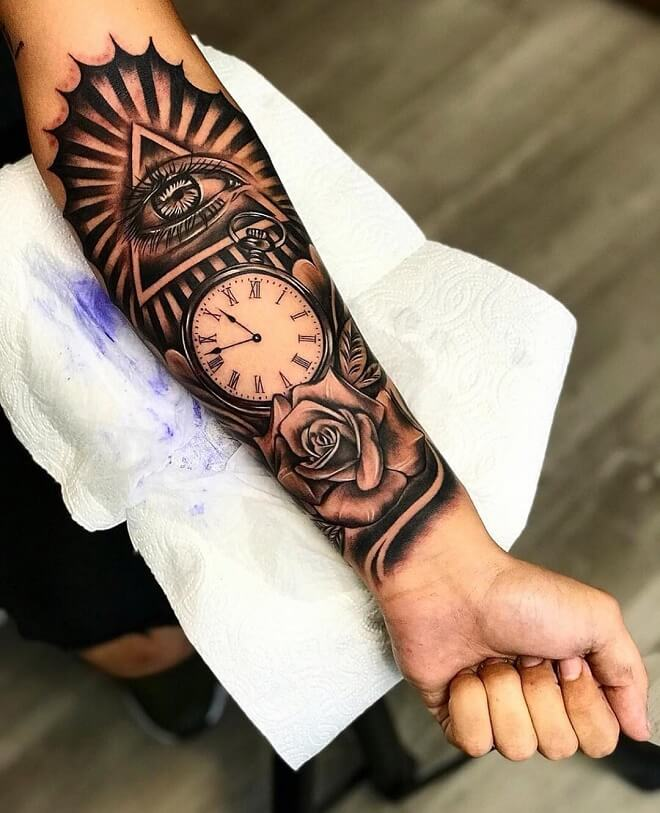 Cute Sleeve Tattoo