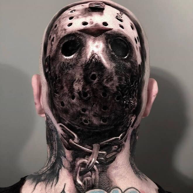Dangerous Head Tattoo