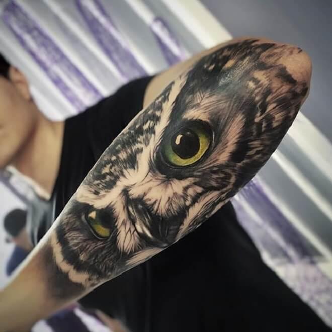 Dangerous Wolf Tattoo
