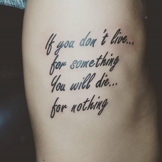 Davaocity Quotes Tattoo