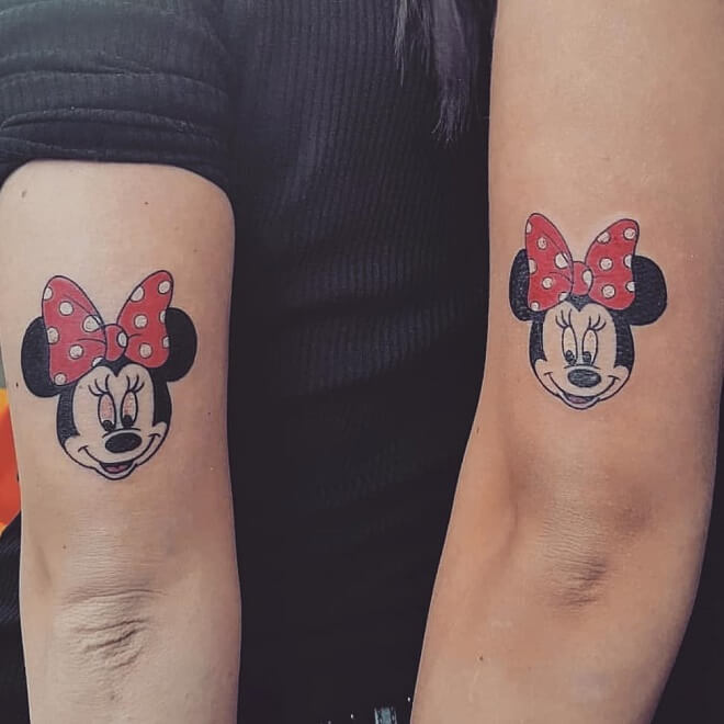 Disney Friendship Tattoos