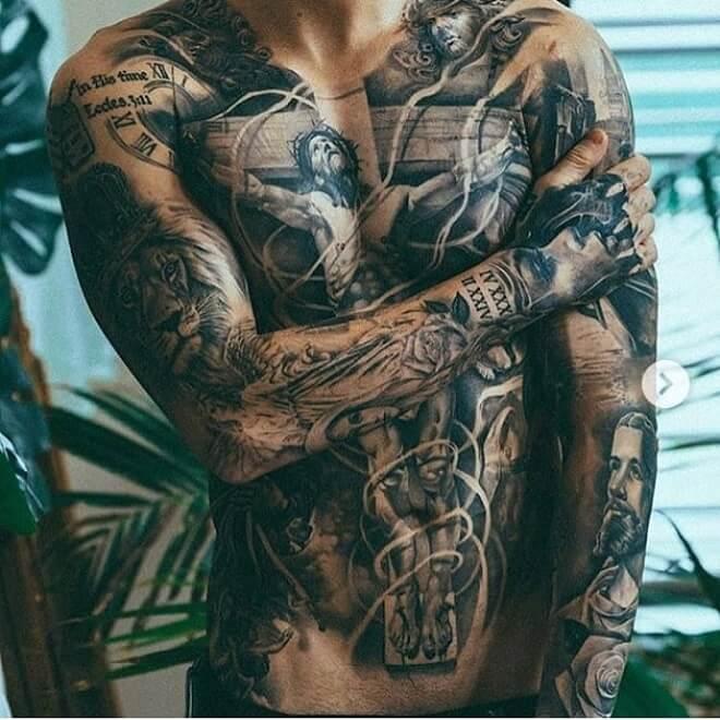 Dream Machine Body Tattoos