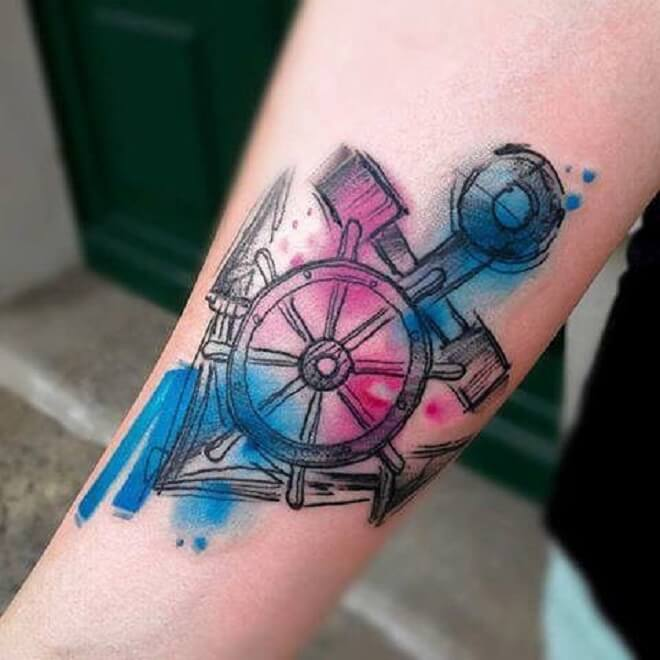 Top 30 Cool Anchor Tattoos For Men Popular Anchor Tattoo Design 2019