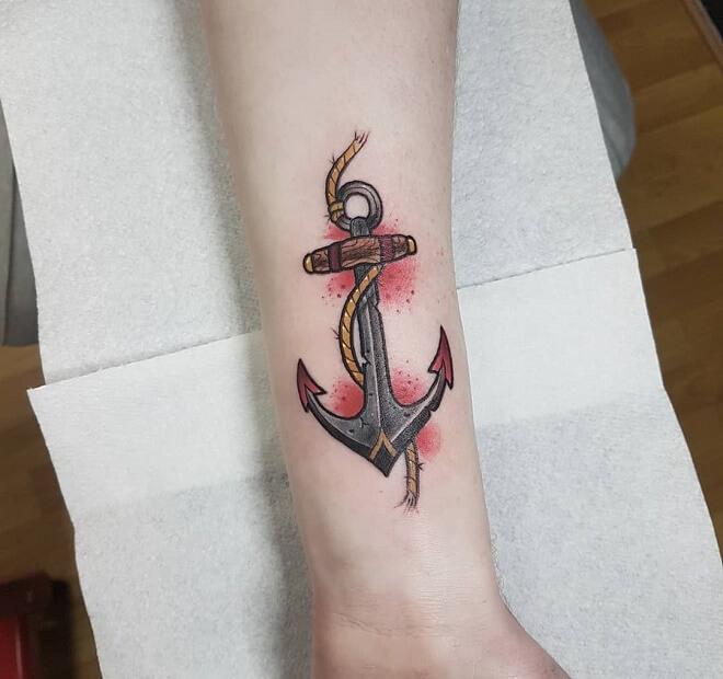 Dublin Archor Tattoo