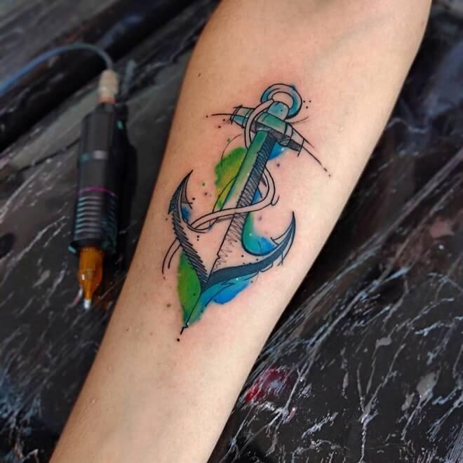 ElectraPop Archor Tattoo