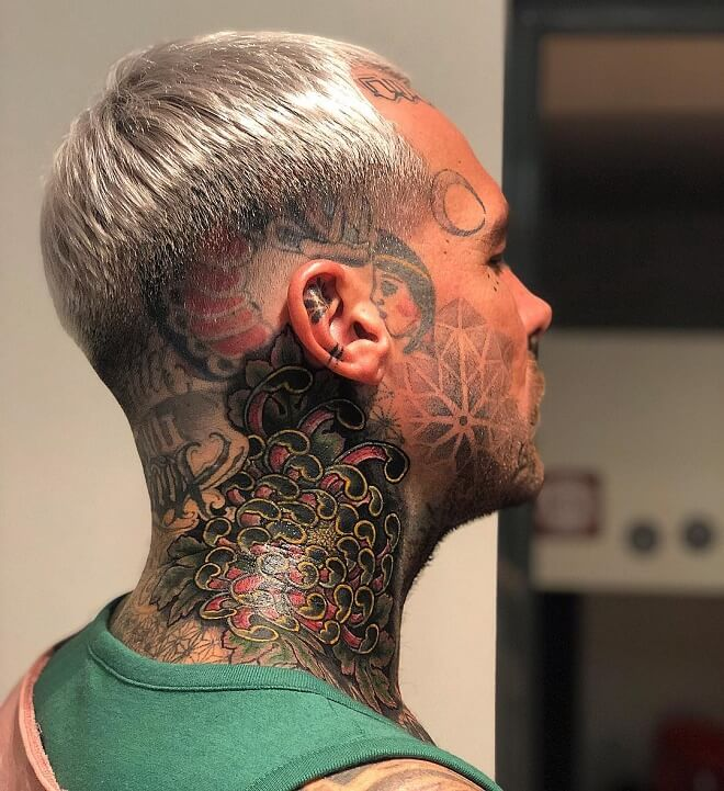 Fade Face Tattoo